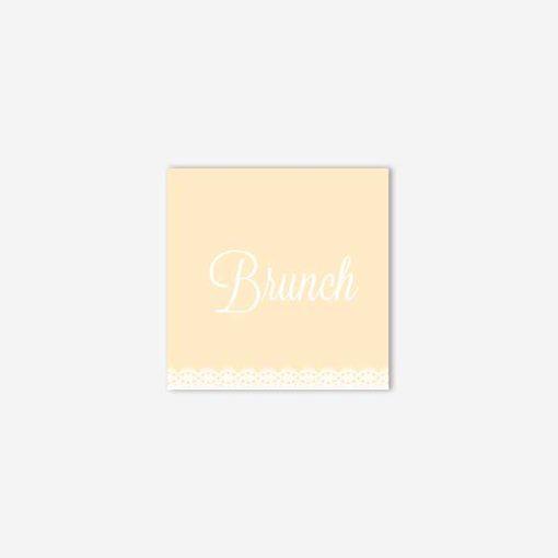 carton brunch dentelle