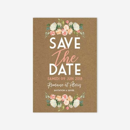 save the date fleurit