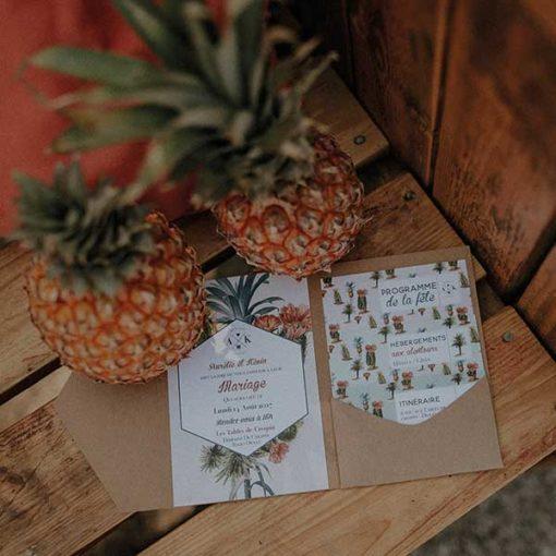 legrenierdepauline_collection_tropicool_invitation_pochette_ananas