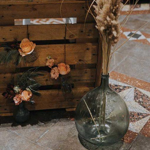 location jarre bonbonne en verre mariage