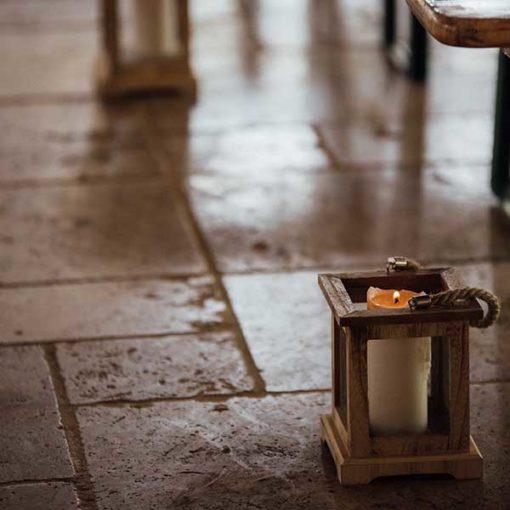 location lanterne en bois