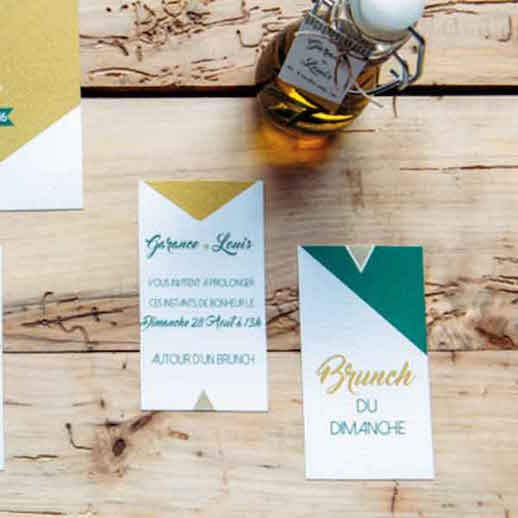 Coupon Brunch – Collection Mademoiselle Graphique