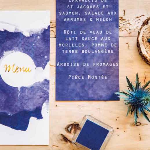 Papeterie de mariage aquarelle - Collection Mr Klein
