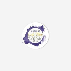 Badge mariage Klein