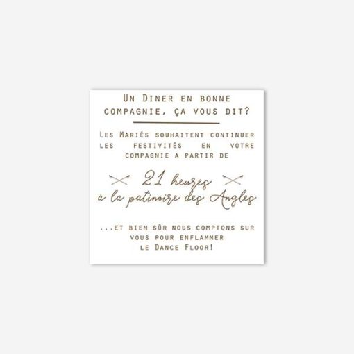 coupon diner mariage hiver
