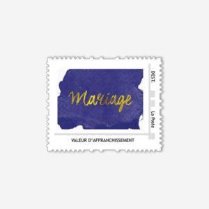 timbre poste klein