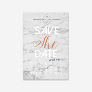 save the date marbre