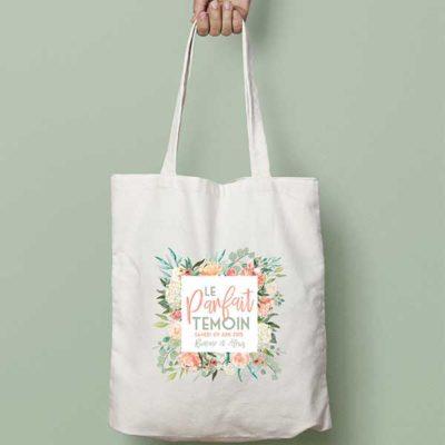 Tote Bag mariage personnalisé