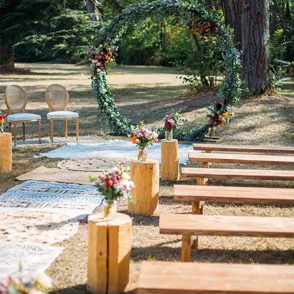 Location Banc Mariage Toulouse