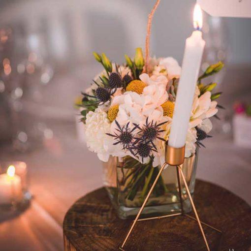 location chandelier géométrique mariage