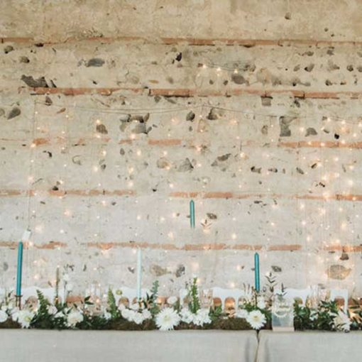 rideaux lumineux location mariage