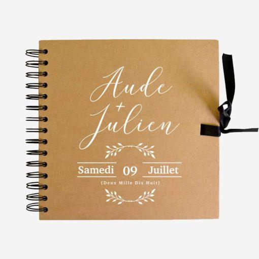 Livre d'or mariage monsieur + madame