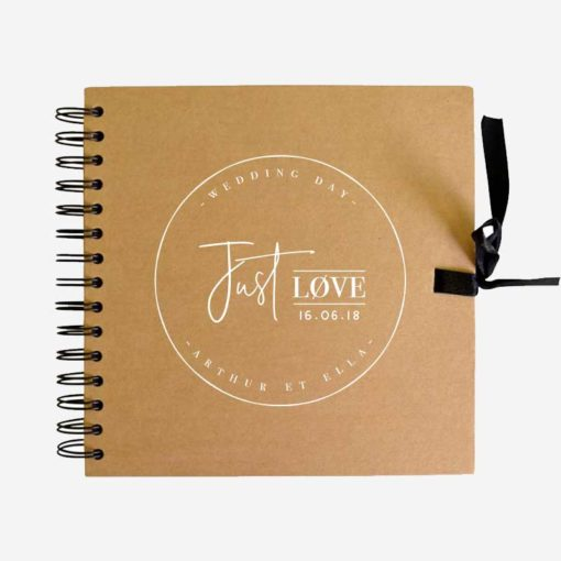 livre d'or mariage just love