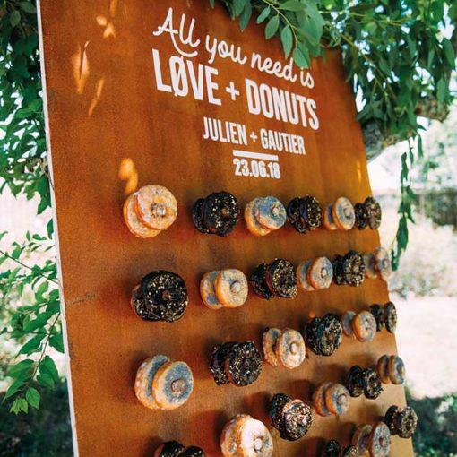 bar a donuts mariage