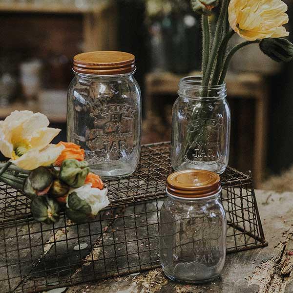 Vase type Mason Jar
