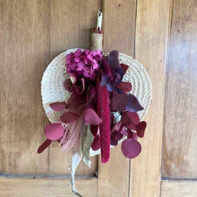 palme fleurie osier