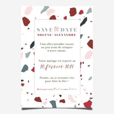 save the new date report de date change the date