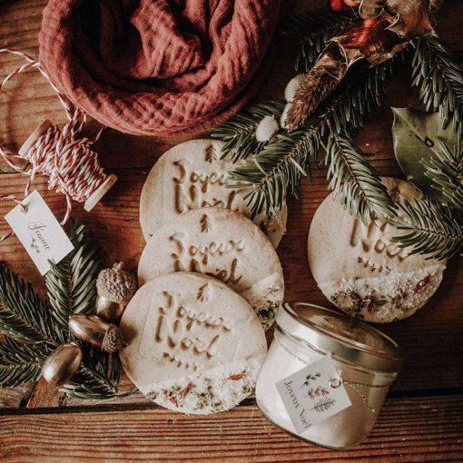 box deco de table réveillon de noel fetes de fin d'année