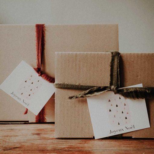box cadeaux noel artisanele cloche bougie gateaux