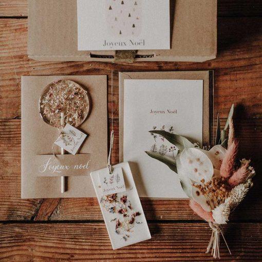 Box cadeau noël artisan