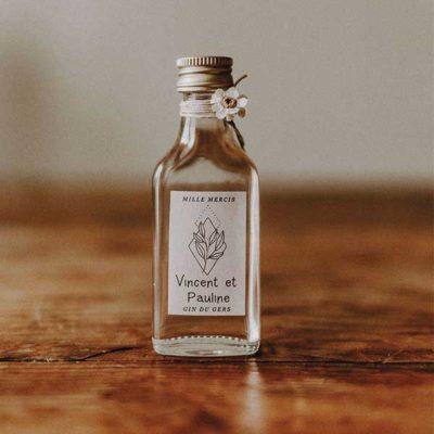 flasque gin cadeau invite mariage