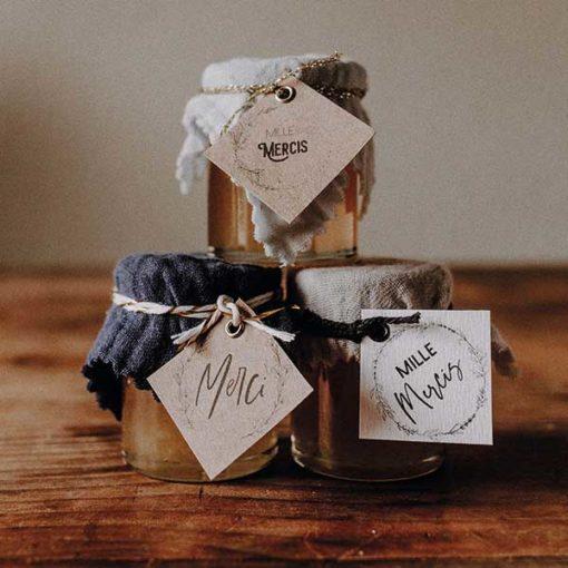 pot de mail cadeau mariage ou bapteme